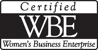 Certified WBE Women's Business Enterprise