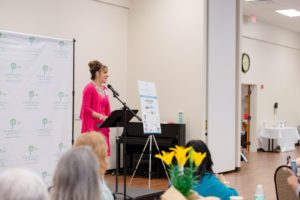 """<img src=""""Yasmin Stump featured speaker at the Purposeful Living INC event"""" alt=""""Yasmin Stump (above) was a featured speaker at the Purposeful Living INC 2018 Breakfast with a Purpose in May of this year."""">"""